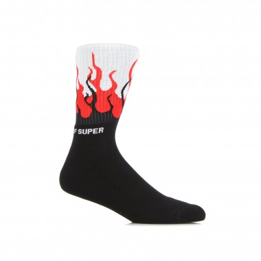 calza media uomo flames socks L/XL