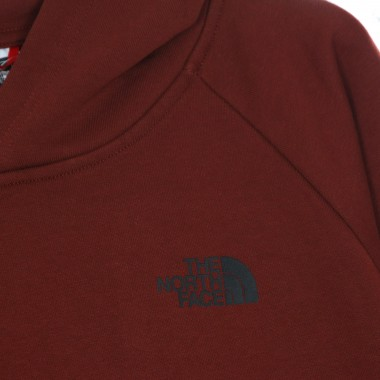 hoodie man raglan red box hd