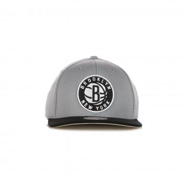 flat visor cap man nba wool 2 tone stretch snapback bronet