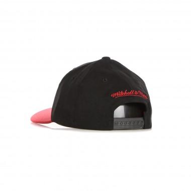 flat visor cap man nba wool 2 tone stretch snapback miahea