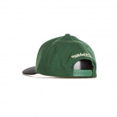 flat visor cap man nba wool 2 tone stretch snapback milbuc