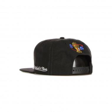 flat visor cap man nba 96 champions wave snapback hwc chibul