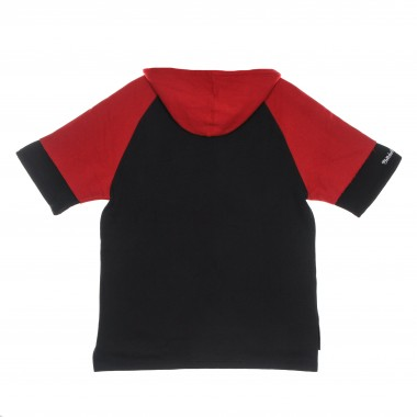 short-sleeved hooded sweatshirt man nba fleece hoodie hardwood classics miahea