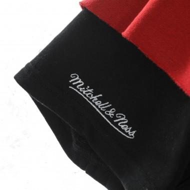 felpa cappuccio manica corta uomo nba fleece hoodie hardwood classics miahea One Size