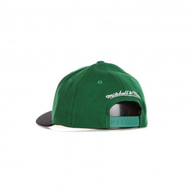 flat visor cap man nba wool 2 tone stretch snapback boscel