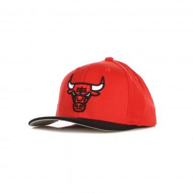 flat visor cap man nba wool 2 tone stretch snapback chibul