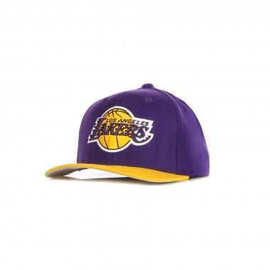 flat visor cap man nba wool 2 tone stretch snapback loslak