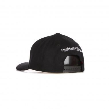 flat visor cap man nba front post stretch snapback bronet