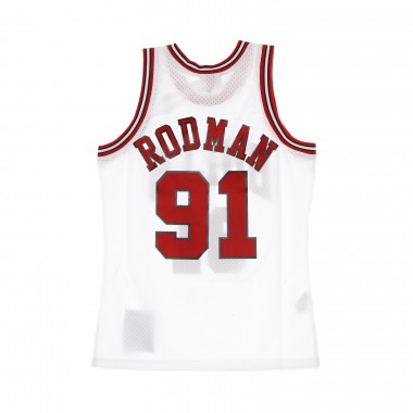 basketball jersey man nba swingman jersey hardwood classics n.91 dennis rodman 1997-98 chibul home