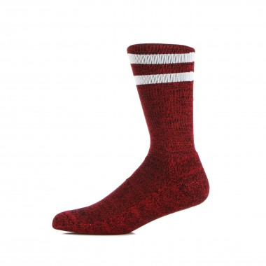 calza media uomo mid high red noise XS