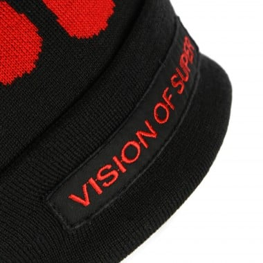 cappello uomo red flames beanie 7-8A