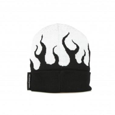 cappello uomo white flames beanie 7-8A