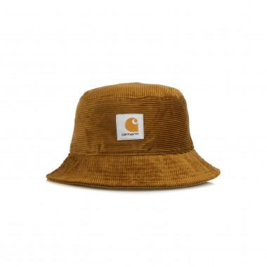cappello da pescatore uomo cord bucket hat S