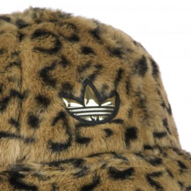 fisherman hat  man sport faux fur printed bucket