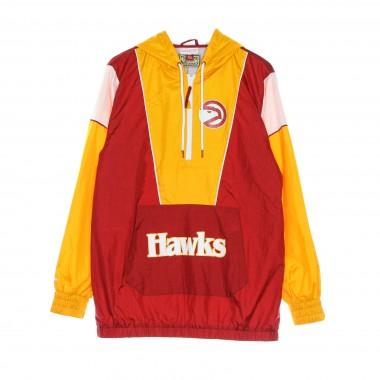 giacca a vento infilabile uomo nba highlight reel windbreaker hardwood classics atlhaw One Size