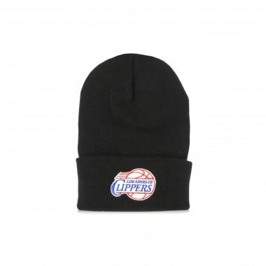 cappello uomo nba team logo cuff knit hardwood classics loscli One Size