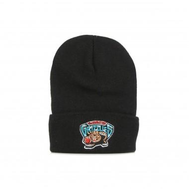 cappello uomo nba team logo cuff knit hardwood classics vangri One Size