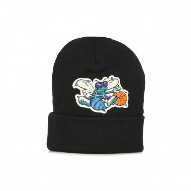 cappello uomo nba chenille logo cuff knit chahor One Size