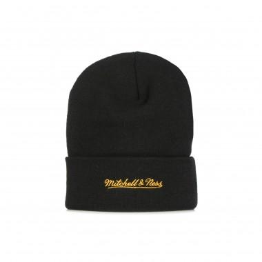 cappello uomo nba chenille logo cuff knit hardwood classics loslak One Size