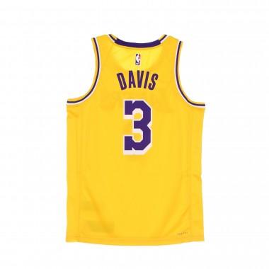 canotta basket uomo nba swingman jersey icon 20 no 3 anthony davis loslak S