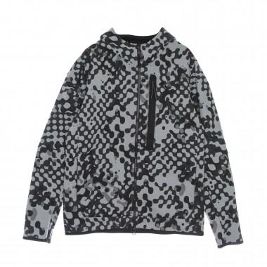 felpa cappuccio zip uomo tech fleece full zip hoodie react 41