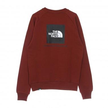 crewneck sweatshirt man raglan redbox crew