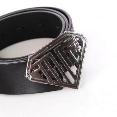 belt man solid logo belt