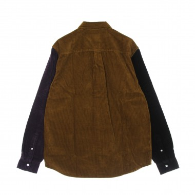 long-sleeved shirt man triple madison cord l/s shirt