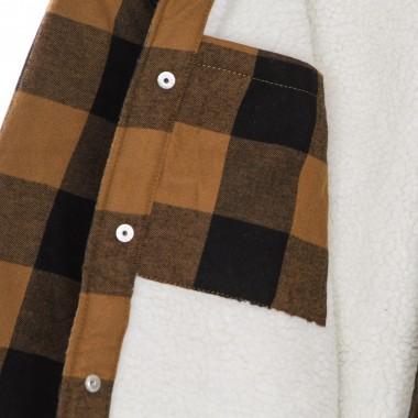 padded shirt man sherpa lined sacramento