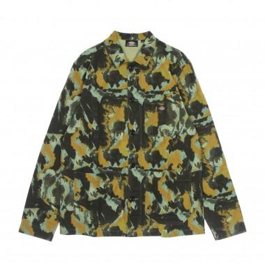 giacca workwear uomo crafted camo l/s overshirt 41