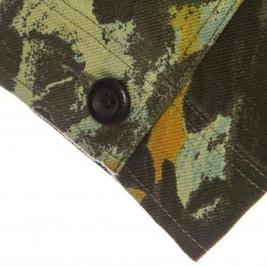 workwear jacket man crafted camo l/s overshirt