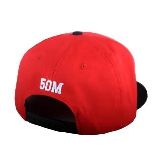 CAPPELLO SNAPBACK 5TATE OF MIND CAP SNAPBACK TURN STATE OF MIND Red/Black/White stg