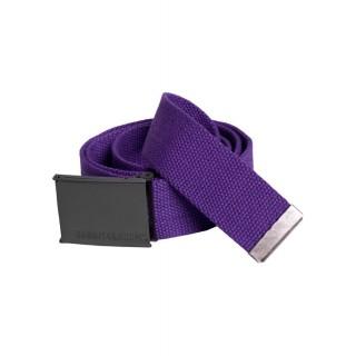 CINTURA URBAN CLASSICS BELT CANVAS Purple stg