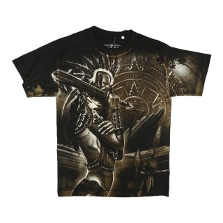 MAGLIETTA DYSEONE T-SHIRT GODDESS Black/Gold/White