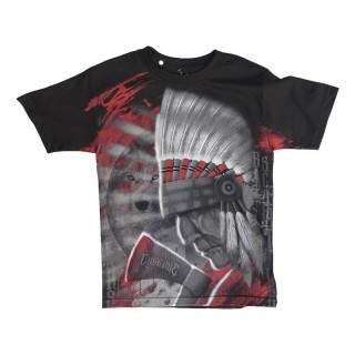 MAGLIETTA DYSEONE T-SHIRT CHIEF Black/Multi