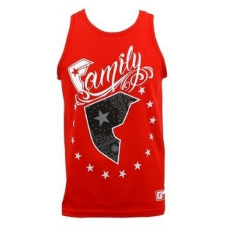 CANOTTA FAMOUS TANK TOP WILD PATRIOT Red/White/Black/Grey