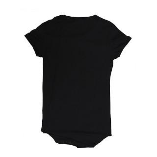 MAGLIETTA BOOM BAP T-SHIRT LONG KILL-TIME PRINT Black/Grey