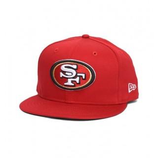 CAPPELLO SNAPBACK NEW ERA CAP SNAPBACK NFL SAN FRANCISCO 49ERS LOGO PRIME Red/White stg
