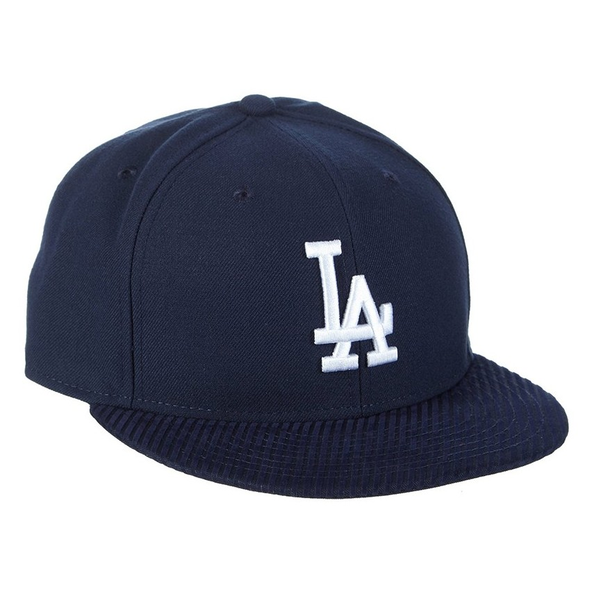 CAPPELLO FITTED NEW ERA CAP FITTED MLB LOS ANGELES DODGERS FLOCK VIZE Ocean  Blue stg ccd95d0b8a21