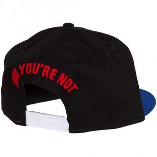 CAPPELLO SNAPBACK NEW ERA CAP SNAPBACK SORRY IM PUNK Black/Royal/Red stg
