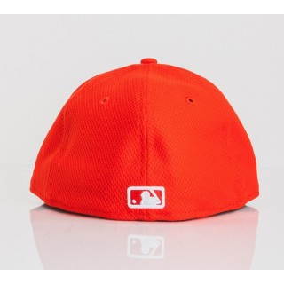 689bd0f83a6 CAPPELLO FITTED NEW ERA CAP FITTED MLB CHICAGO WHITE SOX DIAMOND ERA LEAGUE  BASIC Orange