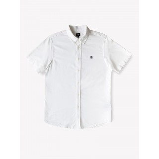 CAMICIA OBEY SHIRT S/S EIGHTY NINE White stg