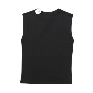 MAGLIETTA STK SUPERTOKYO T-SHIRT SLEEVELESS STK1370 Black/White