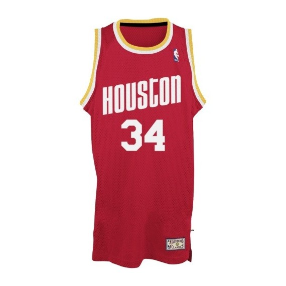 1aed1fb01e2d CANOTTA ADIDAS BASKETBALL JERSEY SWINGMAN NBA HOUSTON ROCKETS ROAD RETIRED  NO34 HAKEEM OLAJUWON unico