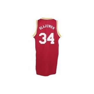 CANOTTA ADIDAS BASKETBALL JERSEY SWINGMAN NBA HOUSTON ROCKETS ROAD RETIRED NO34 HAKEEM OLAJUWON stg