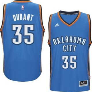 CANOTTA ADIDAS BASKETBALL JERSEY SWINGMAN NBA OKLAHOMA CITY THUNDER ROAD NO35 KEVIN DURANT stg