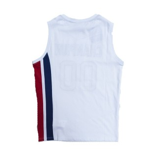 CANOTTA CHAMPION TANK TOP MESH REVERSE WEAVE White/Royal/Red stg