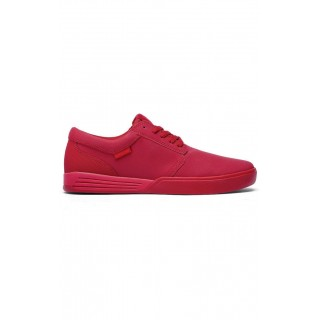 SCARPA BASSA SUPRA SHOES HAMMER Red
