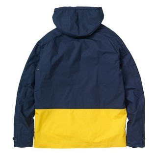 GIUBBOTTO CARHARTT JACKET PORT Blue/Yellow stg