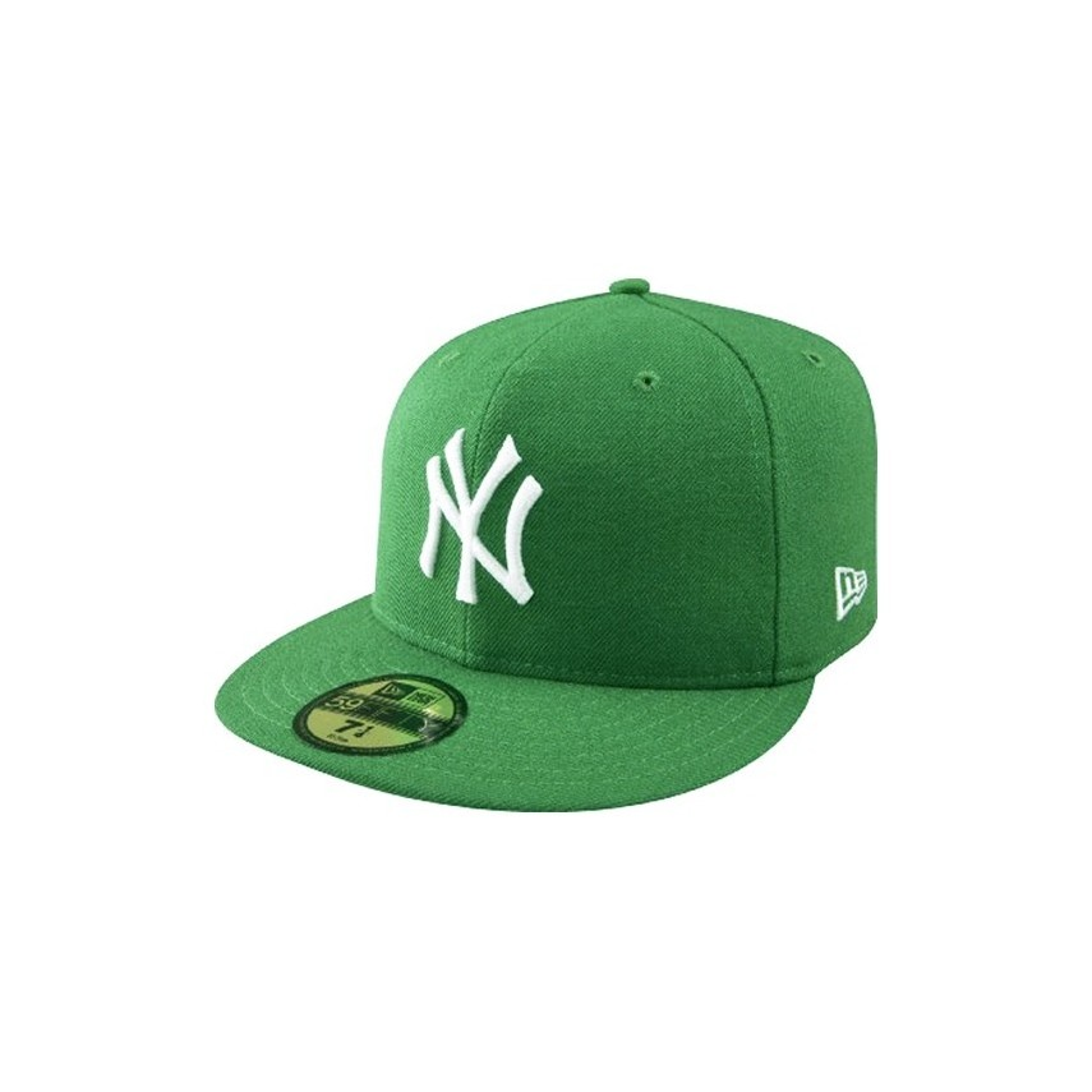 e15143c522eba ... reduced cappello fitted new era cap fitted mlb new york yankees basic  green white. u2039